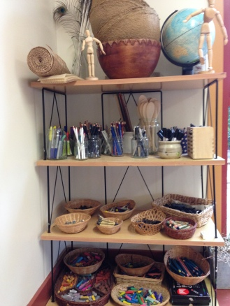 Jars and baskets