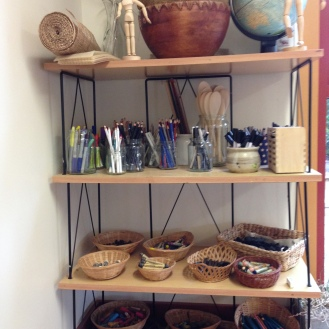 Jars and baskets