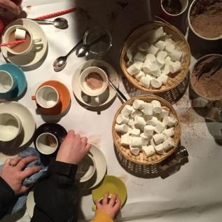 Hot Chocolate Making