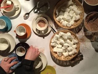 Hot Chocolate Making