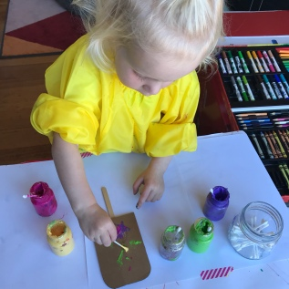 Our Top Tips for Painting with Your Toddler