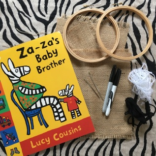 Za Za's Baby Brother by Lucy Cousins
