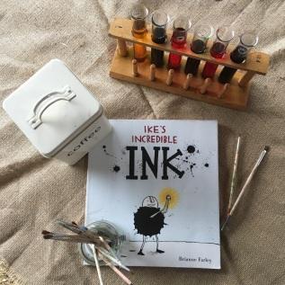 Ike's Incredible Ink by BrianneFarley