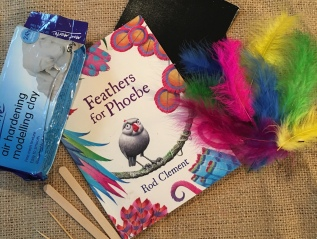 Feathers for Phoebe by Rod Clement